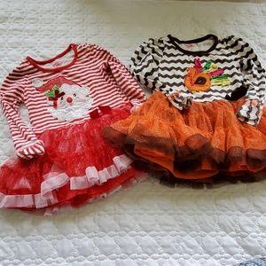 Holiday Tutu Dress Bundle/Lot